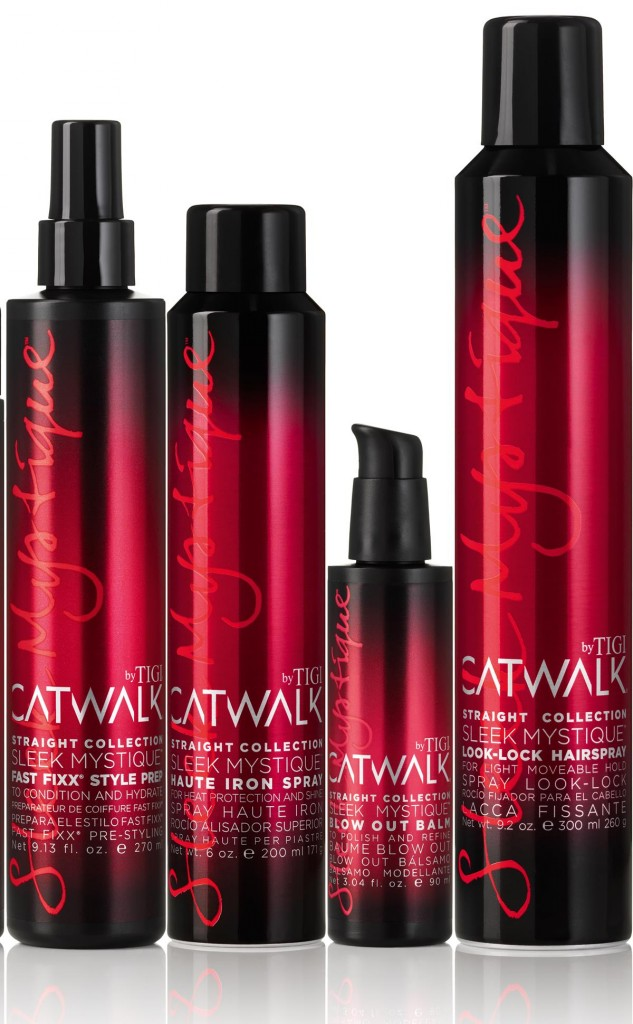 TIGI Catwalk Sleek Hairstyling products from i-glamour