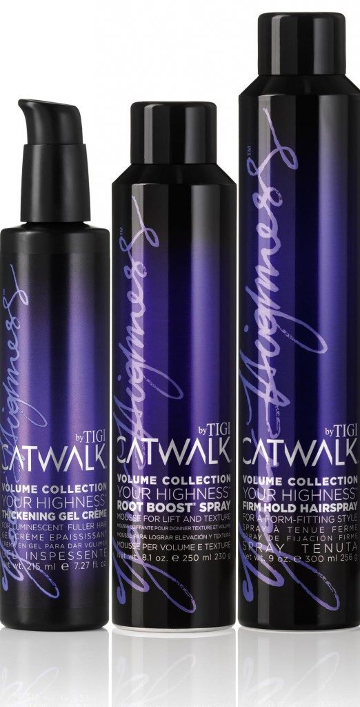 TIGI Catwalk Your Highness Hair Styling Products from i-glamour