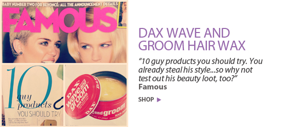 '10 guy products you should try.' Famous