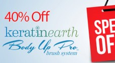 Keratin Earth and Body Up Pro: Now 40% off at i-glamour