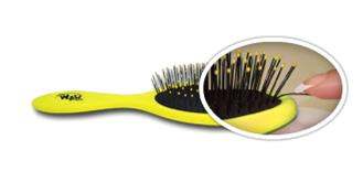The Wet Brush features Intelliflex Bristles