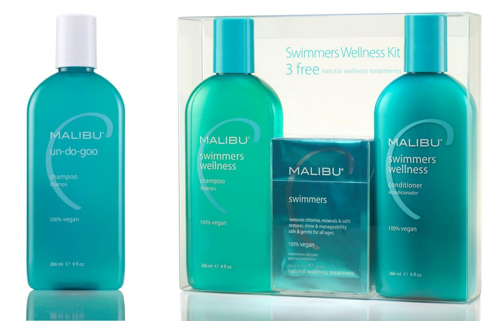 Malibu C Un Do Goo Shampoo and Swimmers Hair Treatment Kit