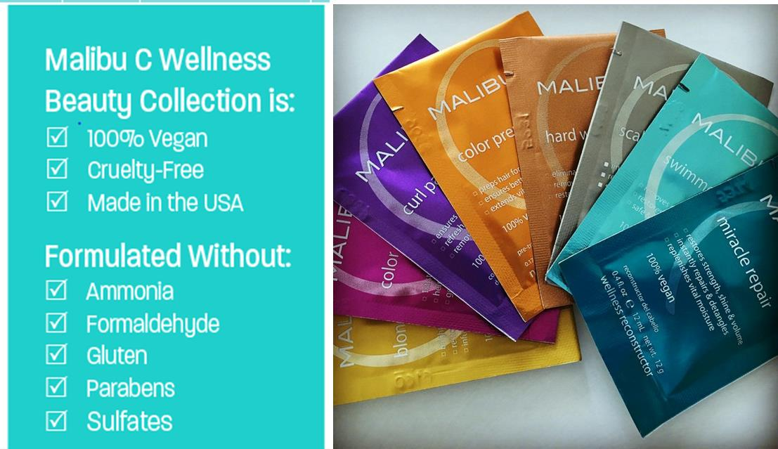 Buy Malibu C vegan hair treatments from i-glamour