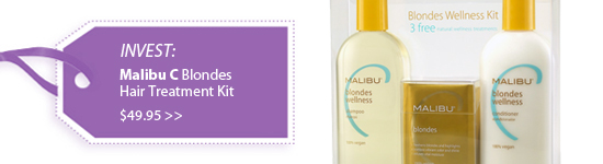 Malibu C Blondes Wellness Hair Treatment Kit