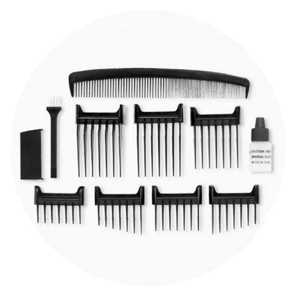 Hair Trimmer and Hair Clipper Comb Attachments