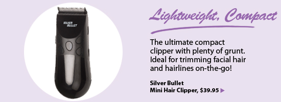 Silver Bullet Mini Hair Clipper
