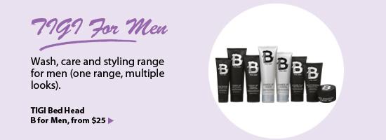 TIGI Bed Head B for Men Hair Care