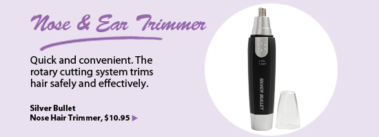 Silver Bullet Nose Hair Trimmer