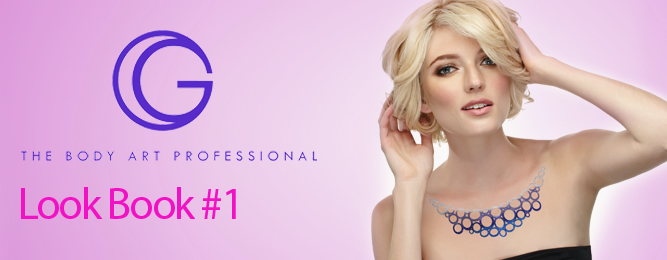 G The Body Art Professional Glitter Tattoo Look Book: by i-Glamour