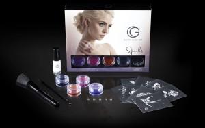 G The Body Art Professional Sparks Glitter Tattoo Kit