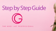 How To: Apply G The Body Art Professional Glitter Temporary Tattoos by i-glamour
