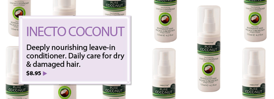 INECTO Pure Coconut Oil Deeply Nourishing Leave-In Conditioner