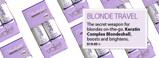 Keratin Complex Blondeshell Travel Valet Shampoo and Conditioner