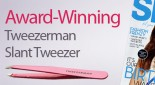 Tweezerman Slant Tweezer: Top 100 Beauty Buys by Shop Til You Drop magazine