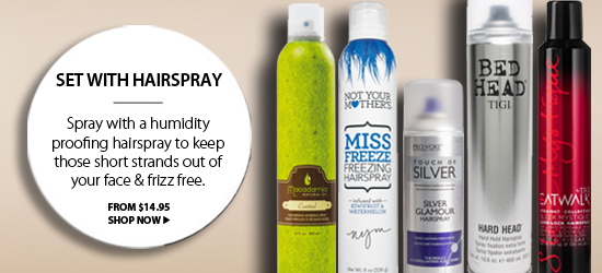 Hair Styling Products / Hairspray from i-glamour.com