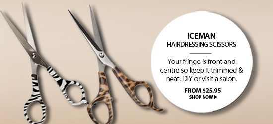 Iceman Hairdressing Scissors from i-glamour.com