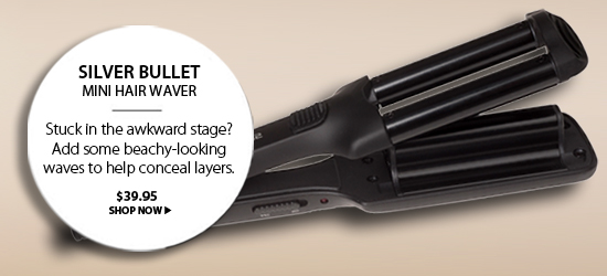 Silver Bullet Mini Deep Hair Waver from i-glamour.com