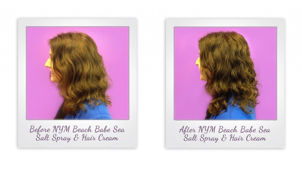 Not Your Mothers Beach Babe Sea Salt Spray and Texturizing Cream