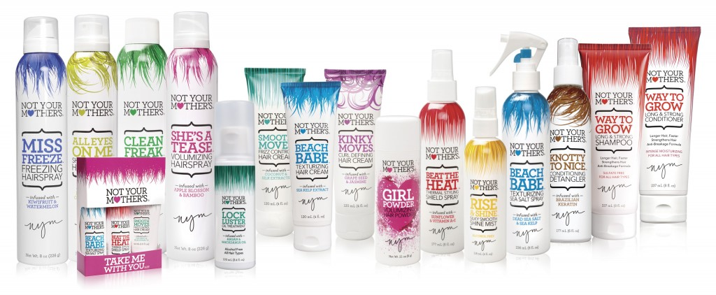Not Your Mothers hair products from i-glamour.com