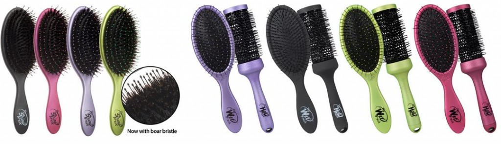 The Shine Brush and Wet 2 Style Hair Brush Sets by The Wet Brush