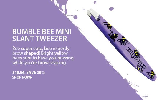 Tweezerman Bumble Bee Mini Slant Tweezer