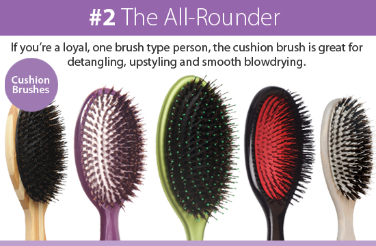 Cushion Hair Brushes