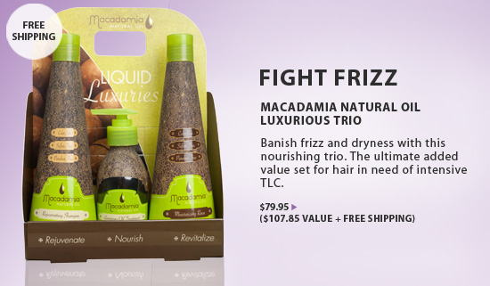 Macadamia Natural Oil Hair Care from i-Glamour