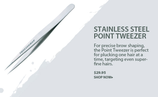 Tweezerman Stainless Steel Point Tweezer
