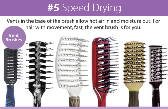 Vent Hair Brushes