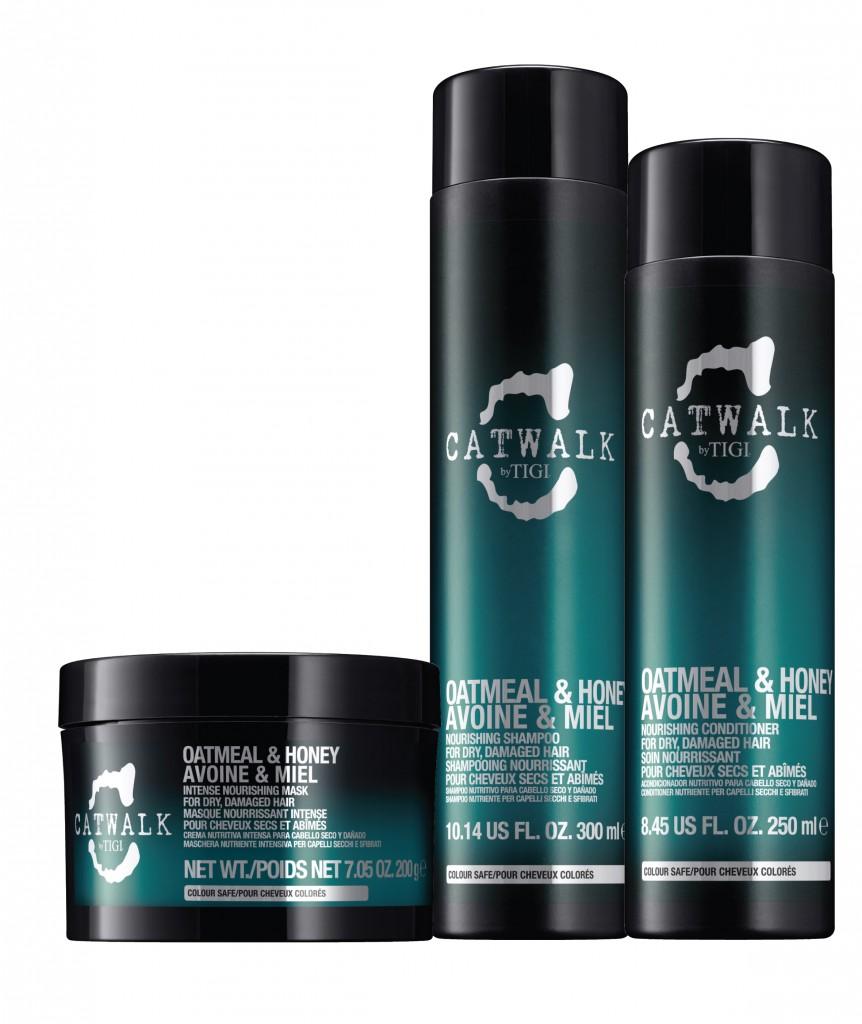 TIGI Catwalk Oatmeal and Honey Hair Care