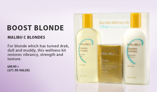 Malibu C Blondes Hair Care from i-Glamour