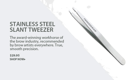 Tweezerman Slant Tweezer in Stainless Steel