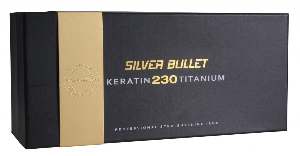 Silver Bullet Keratin 230 Gold Hair Straightening Iron
