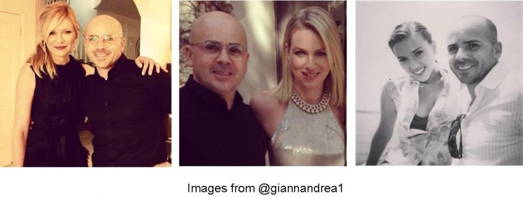 Giannandrea, celebrity hairstylist