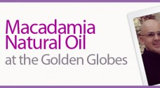 Macadamia Natural Oil at the Golden Globes