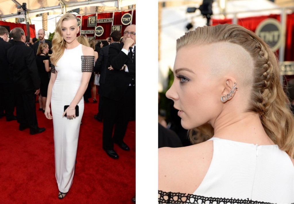 Macadamia Natural Oil Styles Natalie Dormer's Hair