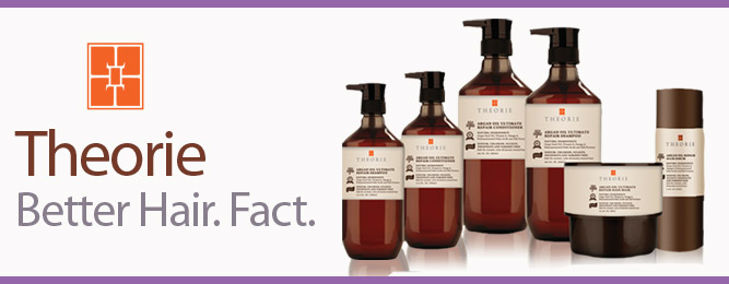 New Theorie Argan Oil Hair Care Collection: Better hair. Fact!