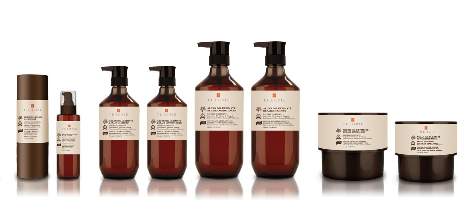 Theorie Argan Oil Hair Care Collection