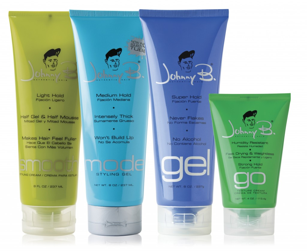 Johnny B Mens Hairstyling Gels