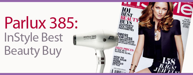 Parlux 385 is an In Style Best Beauty Buy for 2014