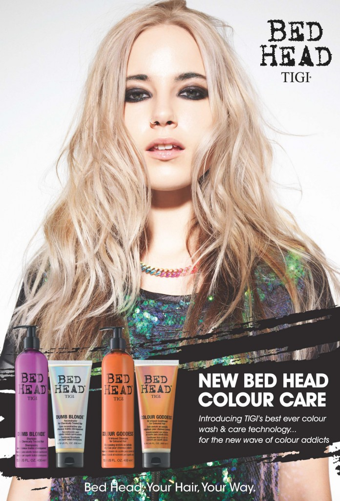 New TIGI Bed Head Colour Care