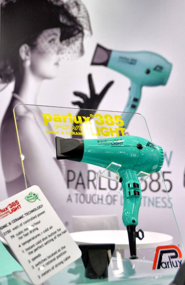 The new Parlux 385 colour, aqua marine