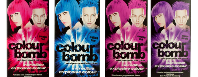 Colour Bomb Semi Permanent Hair Colour I Glamour Blog