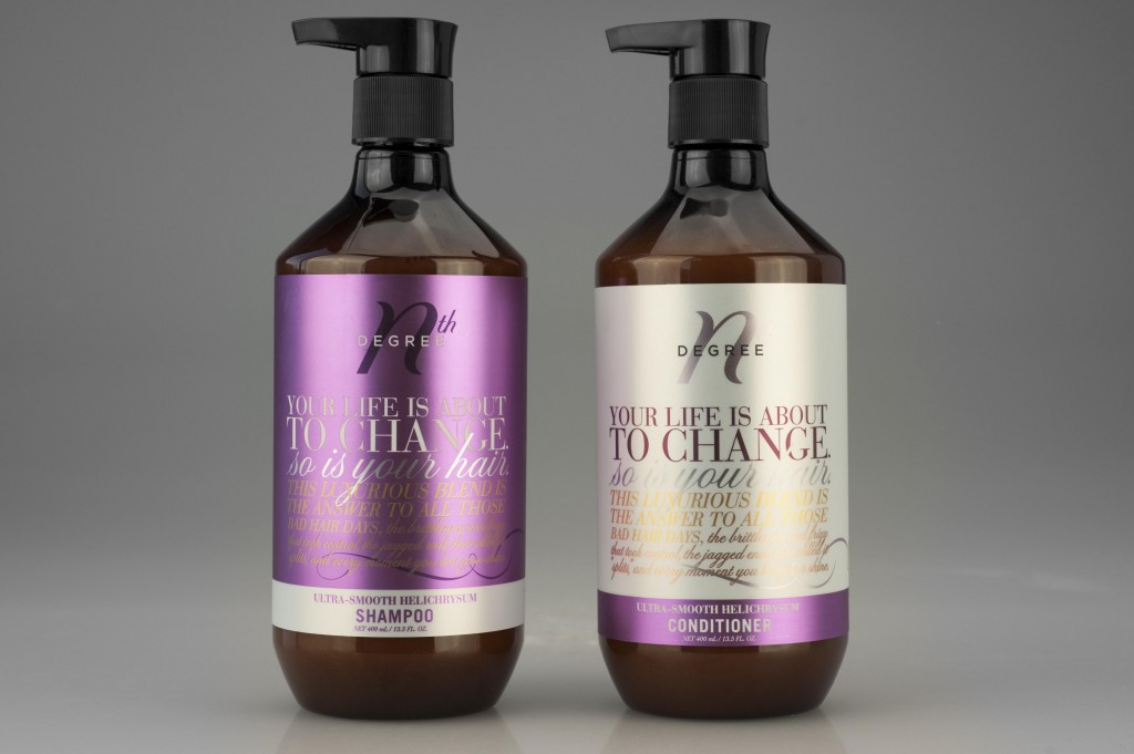 Nth Degree Helichrysum Shampoo and Conditioner from i-glamour