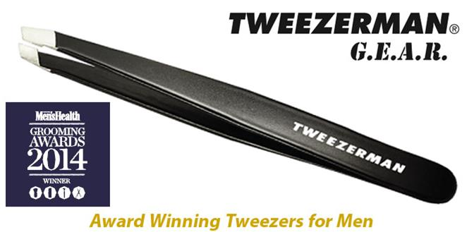 Tweezerman GEAR Slant Tweezer Grooming Awards Winner 2014