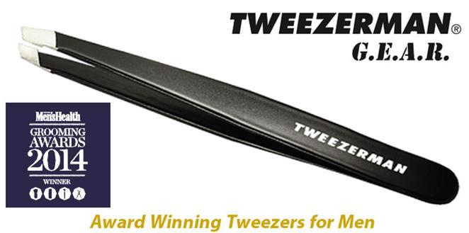 Tweezerman GEAR Slant Tweezer Grooming Awards Winner 2014