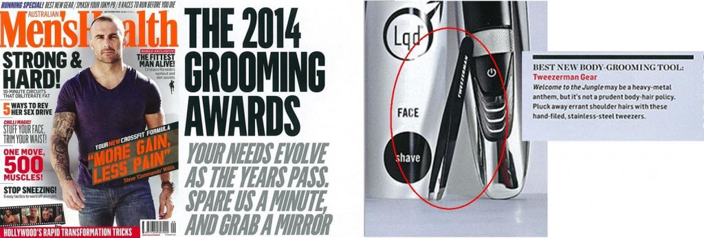 Best Body Grooming Tool Tweezerman GEAR Tweezer