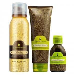 Macadamia Natural Oil Holiday Flawless Gift Set from i-glamour