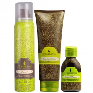 Macadamia Natural Oil Holiday Control Gift Set from i-glamour
