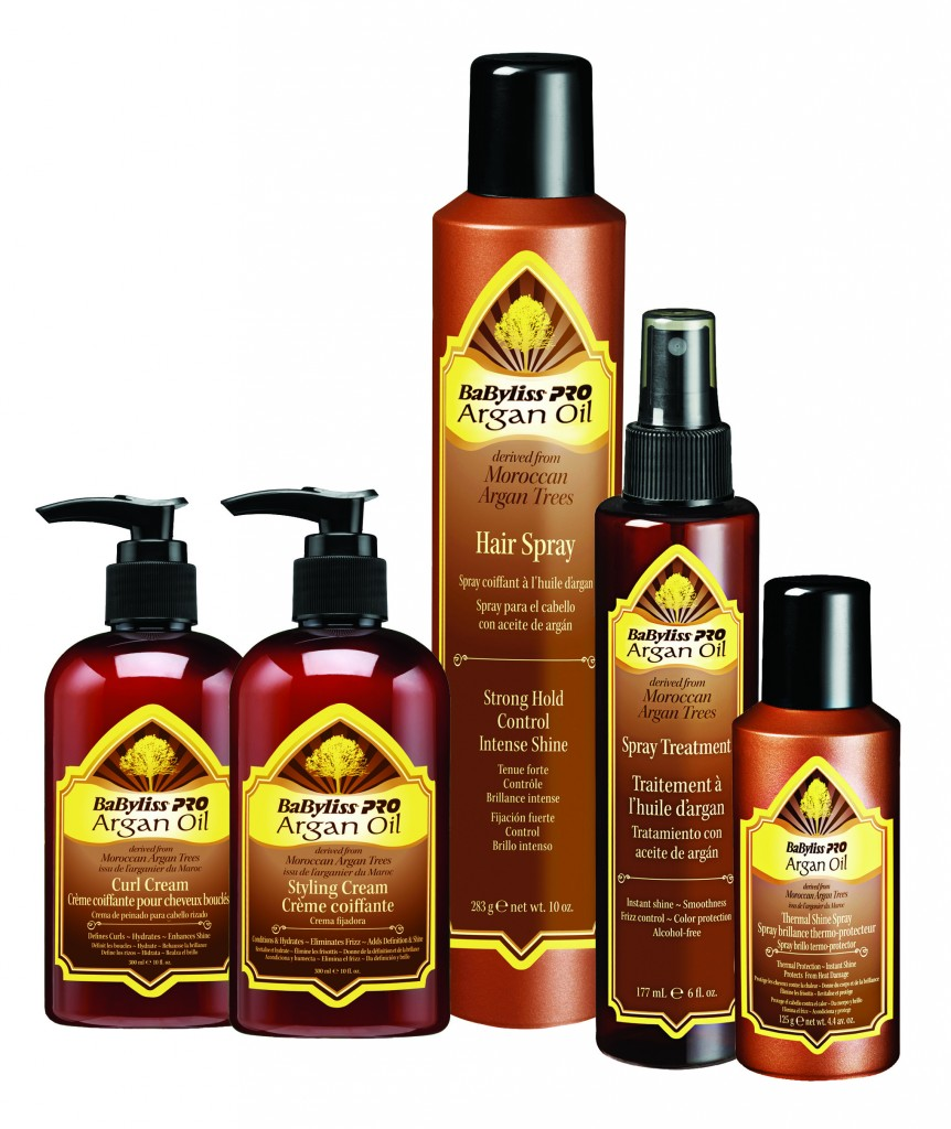 Argan Oil by BaByliss PRO Hair Products